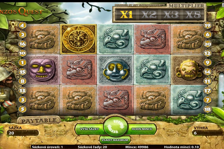 Gonzos Quest™ Hra Hrací Automat Zadarmo na NetEnt s Online Kasínach