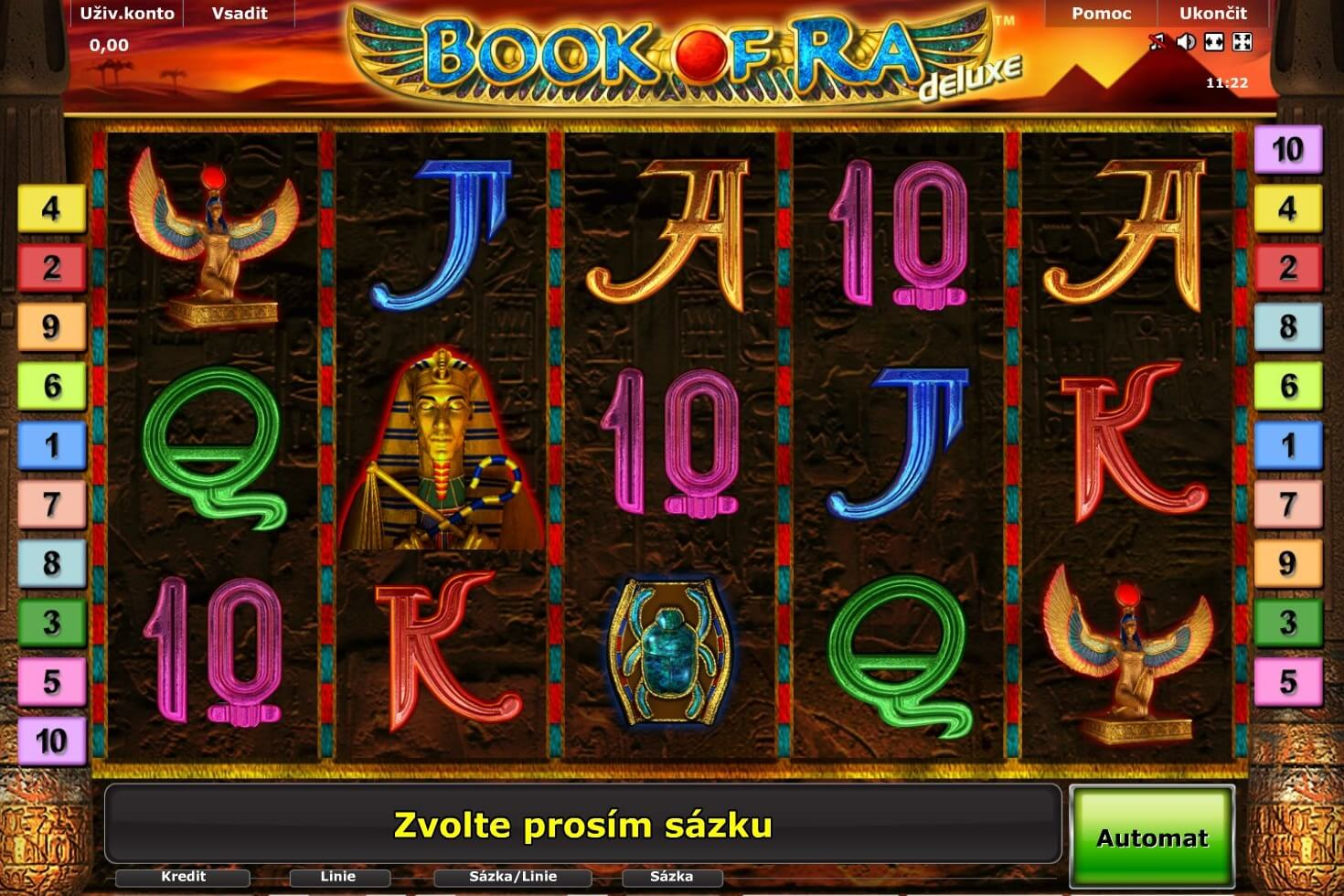 book of ra deluxe zdarma