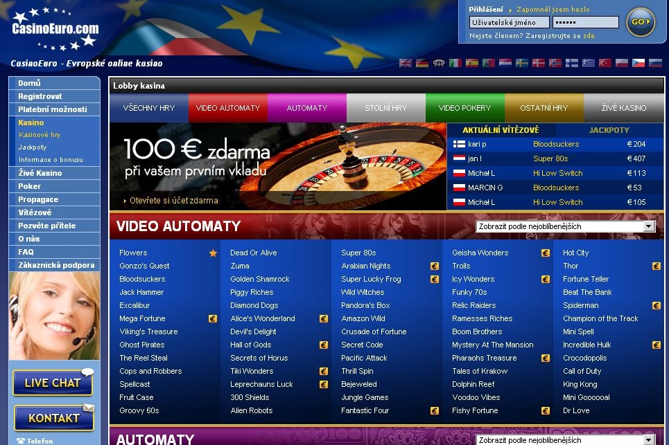 online casino euro briliant