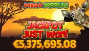 Výherní automat Mega Moolah nechal vyhrát mobilního uživatele více jak pětimilionový jackpot