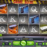 obrázek ze hry - automat Crime Scene online zdarma