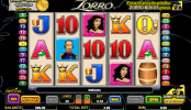 obrázek automatu Zorro online zdarma