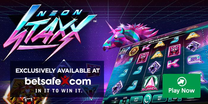 Betsafe Casino již exkluzivně uvedlo hrací automat Staxx