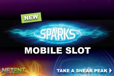 Co se již ví o novém výherním automatu Sparks od NetEntu