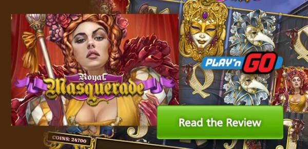 Hrací automat Royal Masquerade od Play 'N Go je online