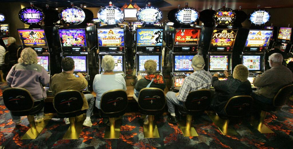 Výherní automaty v herně
