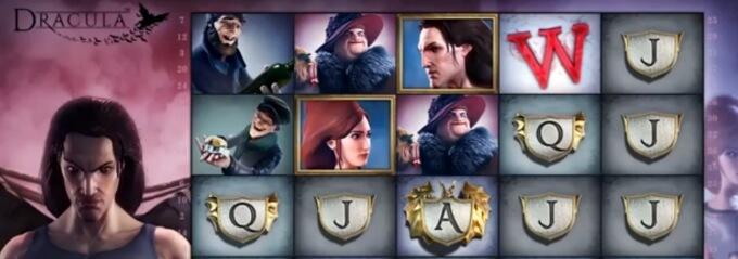 Hrací online mobilní automat Dracula