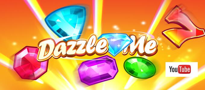 NetEnt se pochlubil s trailerem k automatu Dazzle Me