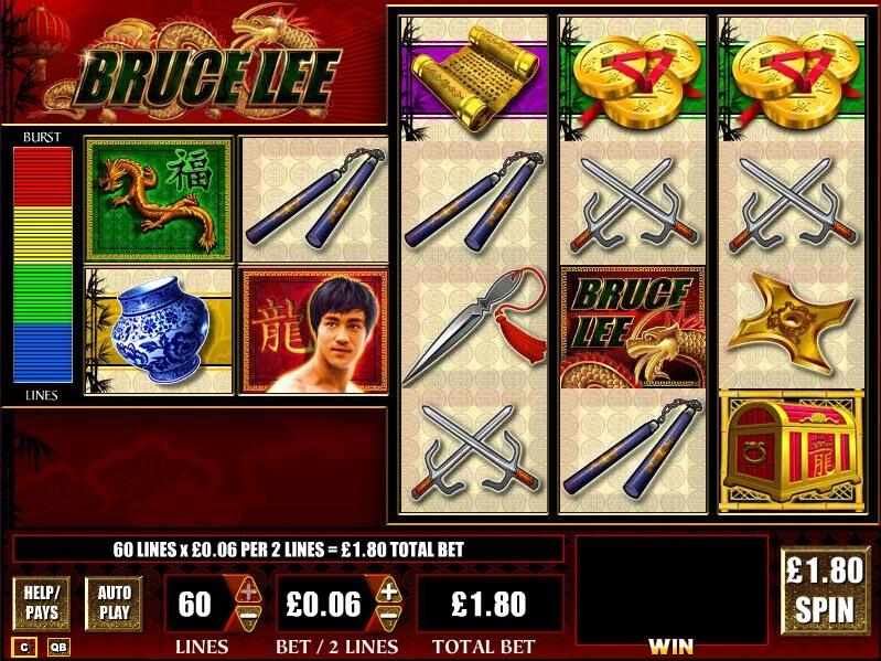 Online výherní automat Bruce Lee