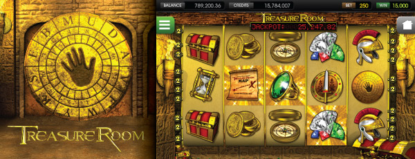 Online výherní automat The Treasure Room