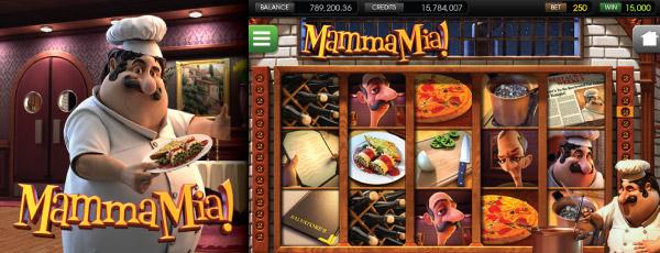 Výherní automat The Mamma Mia