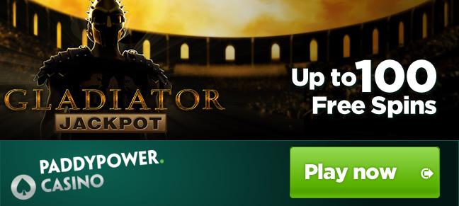 Sto Free Spinů na automatu Gladiator Jackpot v PP Casinu