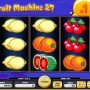 online automat zdarma Fruit Machine 27