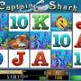 Captain Shark hrací automat zdarma