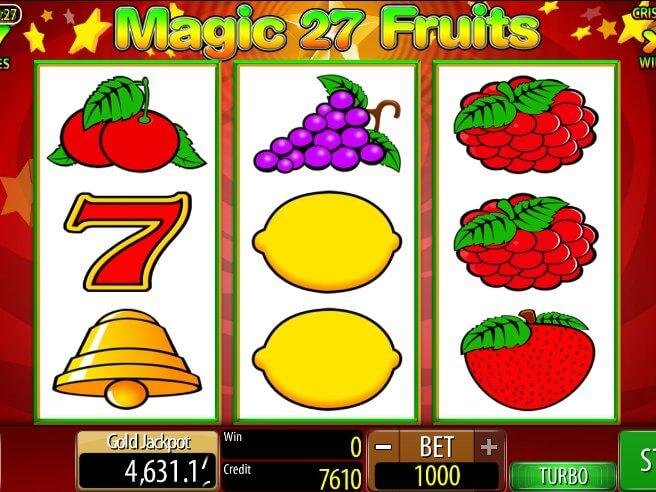 Automat magic fruits 27 online zdarma hraj hned online automaty