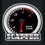 Scatter symbol z online automatu Speed Club