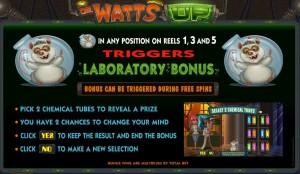 Minihra automatu Dr. Watts Up online zdarma