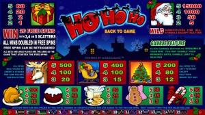 Hrací automat HoHoHo online zdarma
