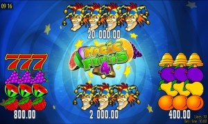 Herní automat Magic Fruits 4 bez registrace