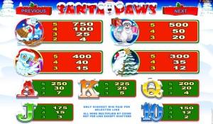 Herní online automat Santa Paws