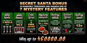 Herní online automat zdarma Secret Santa