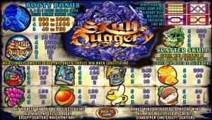 Obrázek automatu Skull Duggery online zdarma