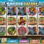 Výherní online automat Soccer Safari