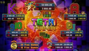 Výherní automat Tetri Mania online