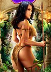 Herní online automat Amazon Queen - wild symbol