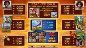Herní casino automat Kangaroo Land bez nutnosti vkladu