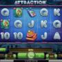 Online casino automat Attraction bez registrace
