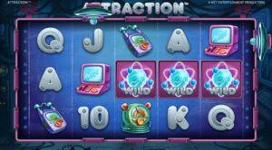 Obrázek ze hry automatu Attraction online zdarma