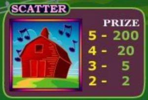 Scatter symbol online automatu Barnyard Boogie