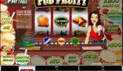 Automat online zdarma Pub Fruity
