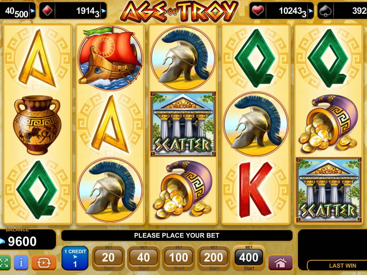 Age of Troy Slots - Read the Review and Play for Free