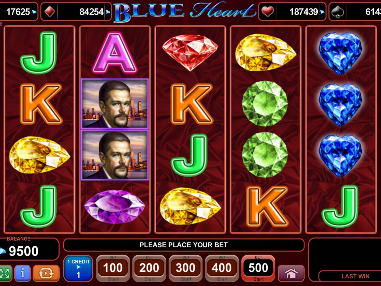 blue heart spielen