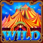 Wild symbol herního automatu Circus Brilliant