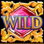 Wild symbol ze hry automat Da Vinci Diamonds online