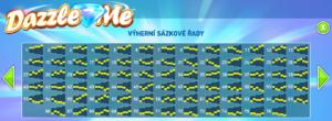 Linie online hracího automat Dazzle Me
