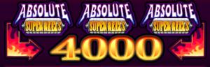 Obrázek ze hry automat Absolute Super Reels