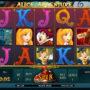 Online casino automat Alice Adventure pro zábavu