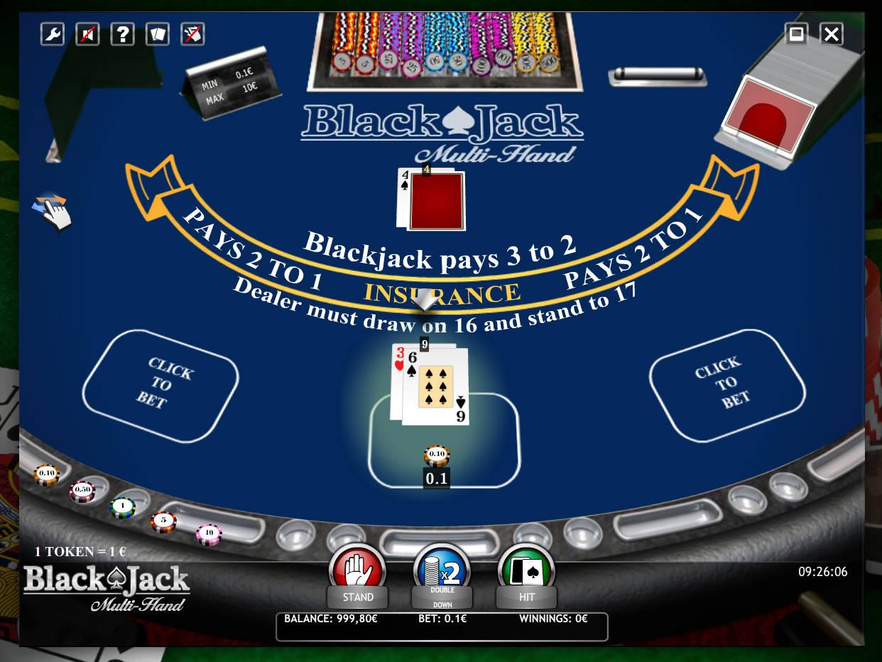 blackjack automat