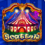 Scatter ze hry automatu Circus Deluxe online zdarma