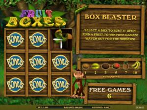 Online casino automat zdarma Fruit Bosex - bonusová hra