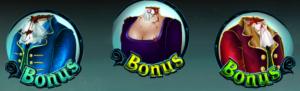 Hrací casino automat Sleepy Hollow - bonusy