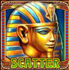 Scatter symbol ze hry automatu Riches of Cleopatra online