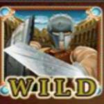 Sparta online automat - wild symbol