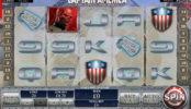 Herní automat zdarma Captain America