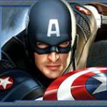 Captain America online automat - wild symbol