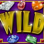 Wild symbol ze hry automatu Crystal Gems